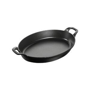 staub plato ovalado hierro fundido