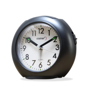 reloj análogo despertador - steiner