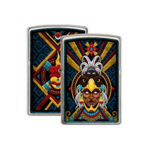 encendedor corazón azteca - ZIPPO