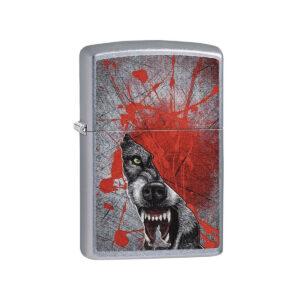encendedor lobo sangriento - ZIPPO